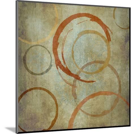 Vintage Circles-Kristin Emery-Mounted Art Print