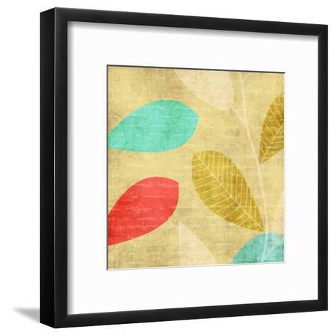 Vivd Leaves-Kristin Emery-Framed Art Print
