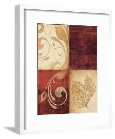 Red Decor By 4-Kristin Emery-Framed Art Print