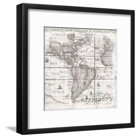 World Map 2-Ophelia & Co^-Framed Art Print