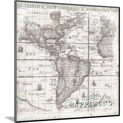 World Map 2-Ophelia & Co^-Mounted Art Print