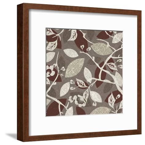 Red Gray Fall A-Kristin Emery-Framed Art Print