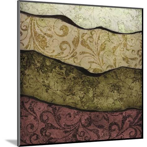 River Earth Warm-Kristin Emery-Mounted Art Print