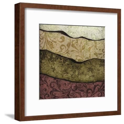 River Earth Warm-Kristin Emery-Framed Art Print