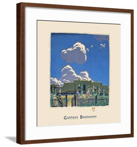 Summer Clouds-Gustave Baumann-Framed Art Print