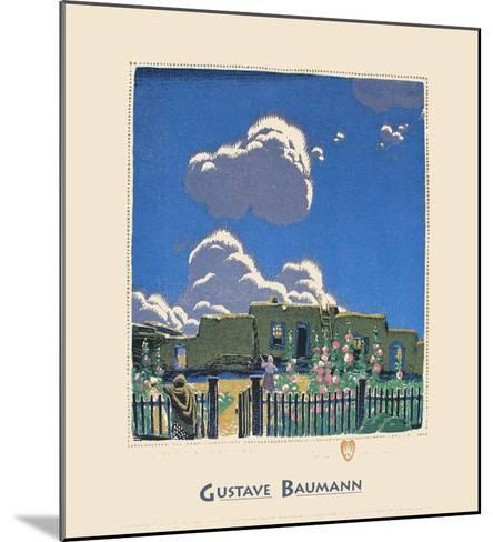 Summer Clouds-Gustave Baumann-Mounted Art Print