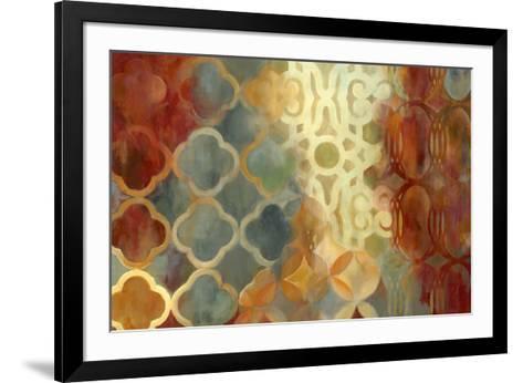 Global Edge-Carol Robinson-Framed Art Print