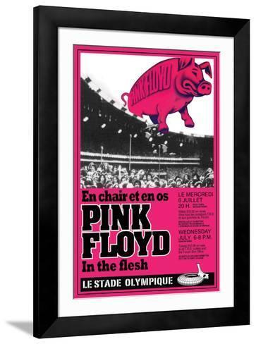 Pink Floyd Concert--Framed Art Print