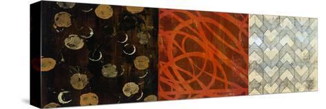 Graphic I-Bridges-Stretched Canvas Print