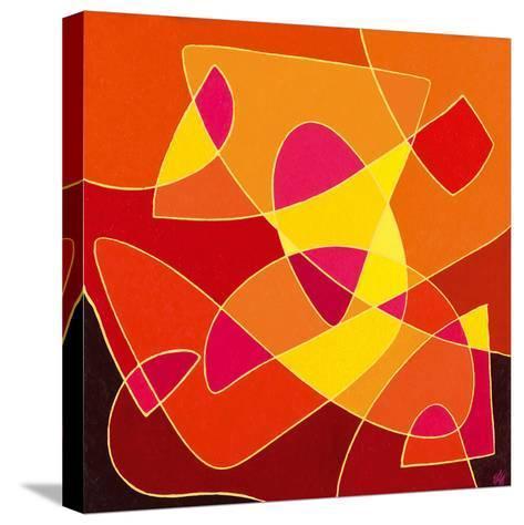 Dancing Light-Vesna Milinkovic-Stretched Canvas Print