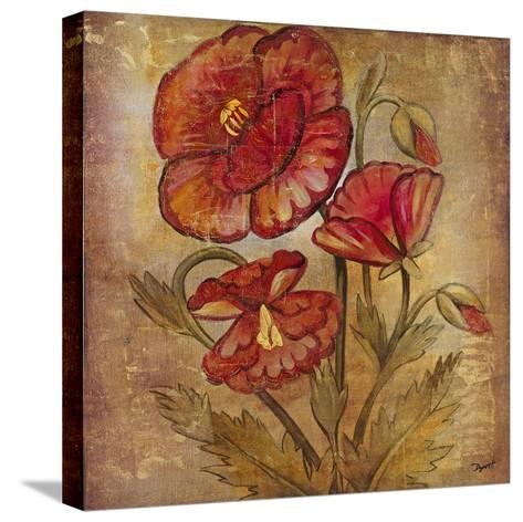 Ancient Floral II-Dysart-Stretched Canvas Print