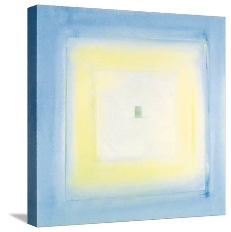 Transparent Blue II-James Maconochie-Stretched Canvas Print