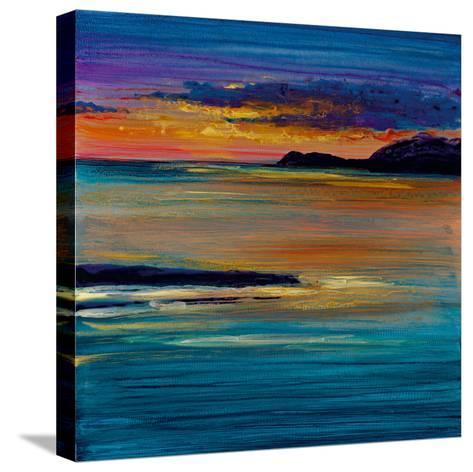 Ocean's Night III-Bridges-Stretched Canvas Print