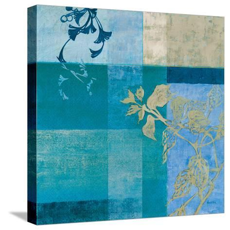 Floral Collage V-Winchester-Stretched Canvas Print