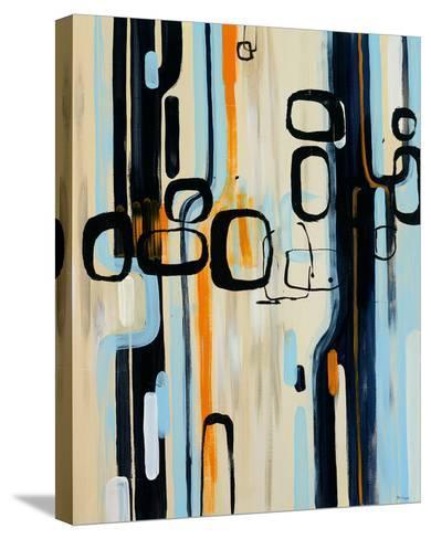 Retro I-Bridges-Stretched Canvas Print