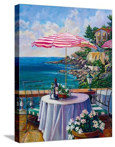 Dejeuner Sur La Cote D'azur II-Ginger Cook-Stretched Canvas Print