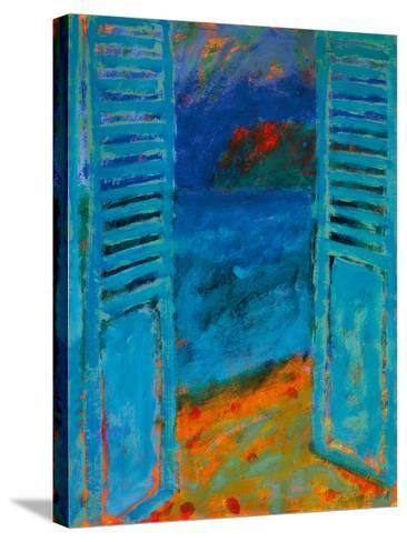 Across The Bay II-Sara Hayward-Stretched Canvas Print