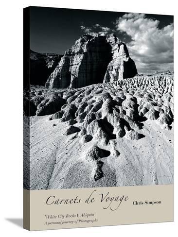 White City Rocks II, Abiquiu-Chris Simpson-Stretched Canvas Print