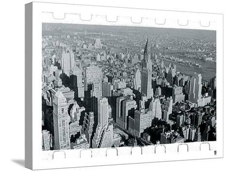 New York City In Winter III-British Pathe-Stretched Canvas Print