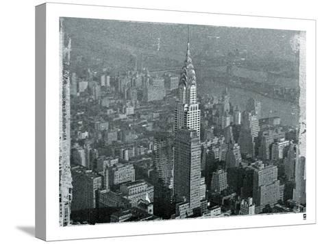 New York City In Winter IV-British Pathe-Stretched Canvas Print