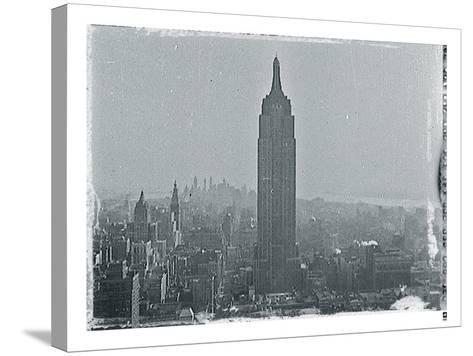 New York City In Winter VII-British Pathe-Stretched Canvas Print