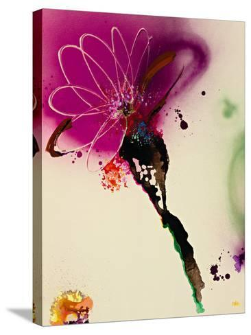 Floral Mist I-Leila-Stretched Canvas Print
