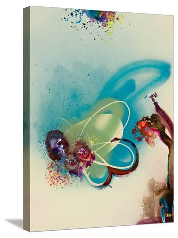 Floral Mist III-Leila-Stretched Canvas Print
