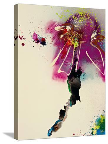 Floral Mist IV-Leila-Stretched Canvas Print