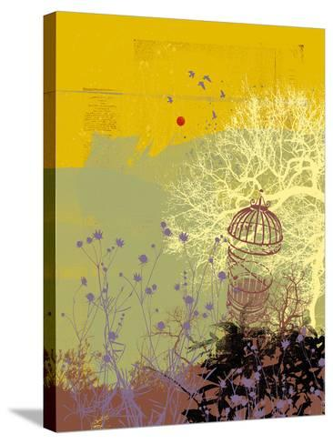 Moon Song I-Ken Hurd-Stretched Canvas Print