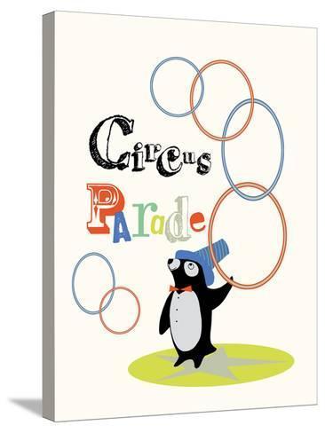 Circus Parade I-Laure Girardin-Vissian-Stretched Canvas Print