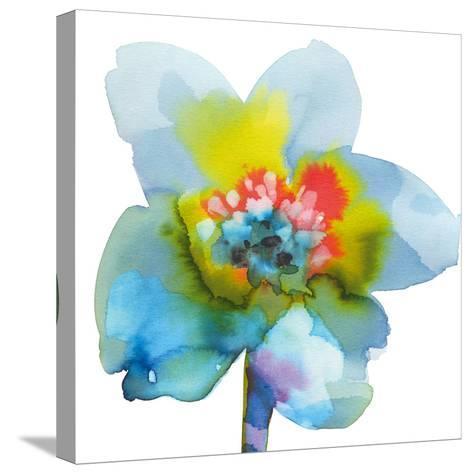Blue Wash I-Sandra Jacobs-Stretched Canvas Print