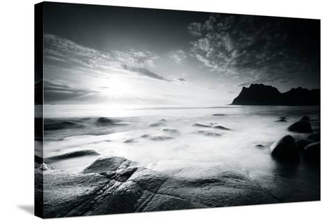 Silver Shores-Andreas Stridsberg-Stretched Canvas Print