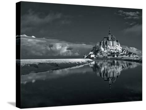 Mont Saint-Michel-Bob Krist-Stretched Canvas Print