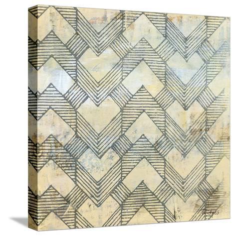 Linear Perception-Bridges-Stretched Canvas Print