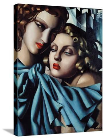The Girls-Tamara de Lempicka-Stretched Canvas Print