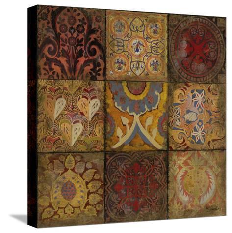 Mosaic III - Detail I-Douglas-Stretched Canvas Print
