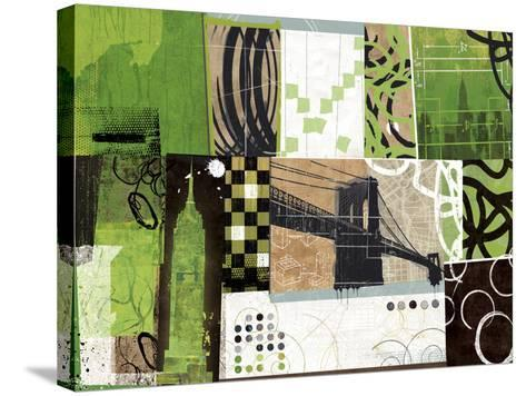 Urban Abstract-Philip Brown-Stretched Canvas Print
