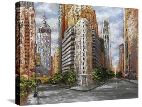 Golden High Rise-Bridges-Stretched Canvas Print