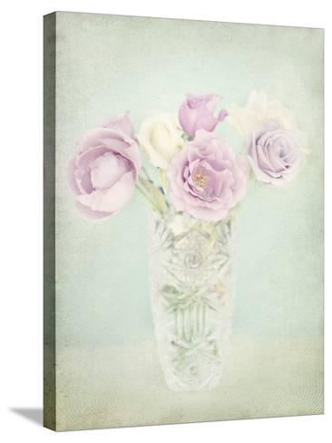 Vintage Flowers I-Shana Rae-Stretched Canvas Print