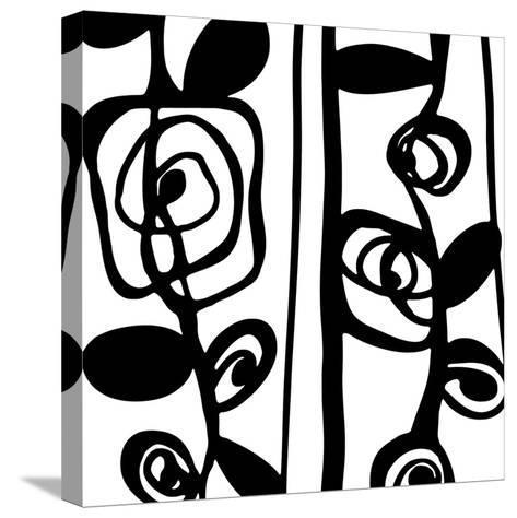 Pure Linear I-Clara Wells-Stretched Canvas Print