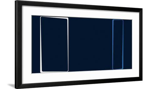 Untitled (Blue), 2013-Carl Abbott-Framed Art Print