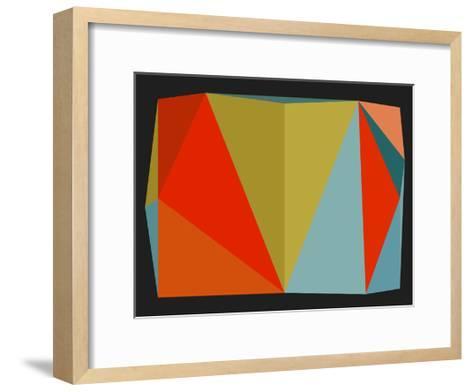 Triangulations n?5, 2013-Henri Boissiere-Framed Art Print