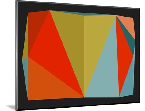 Triangulations n?5, 2013-Henri Boissiere-Mounted Serigraph