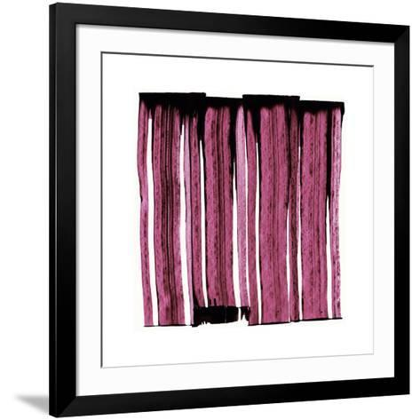 Sans Titre (Red), 2012-Thierry Montigny-Framed Art Print