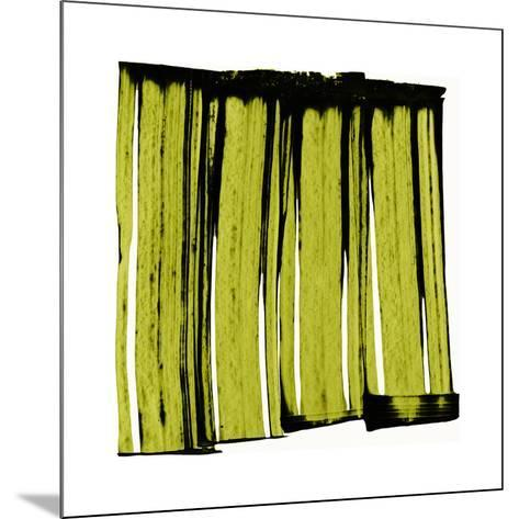 Sans Titre (Green), 2012-Thierry Montigny-Mounted Serigraph