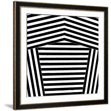 Black and White Collection N° 75, 2012-Allan Stevens-Framed Art Print