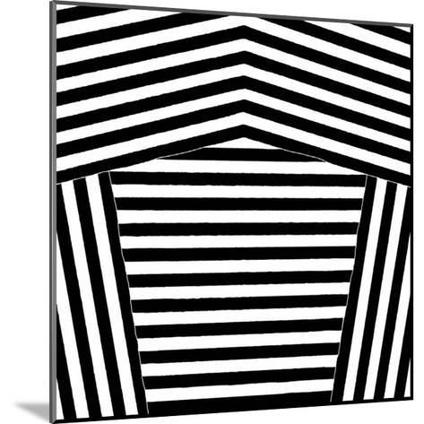 Black and White Collection N° 75, 2012-Allan Stevens-Mounted Serigraph
