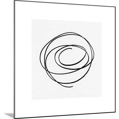 Black and White Collection N° 17, 2012-Allan Stevens-Mounted Serigraph