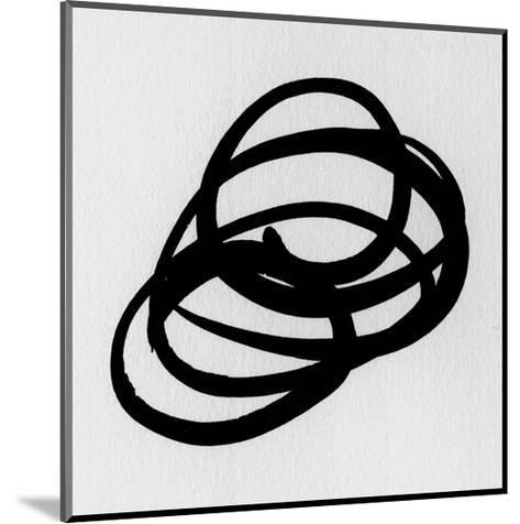 Black and White Collection N° 31, 2012-Allan Stevens-Mounted Serigraph