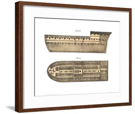 Slave Ship--Framed Art Print